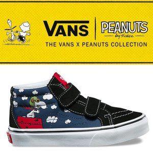 Vans x Peanuts High-Tops - Size 9